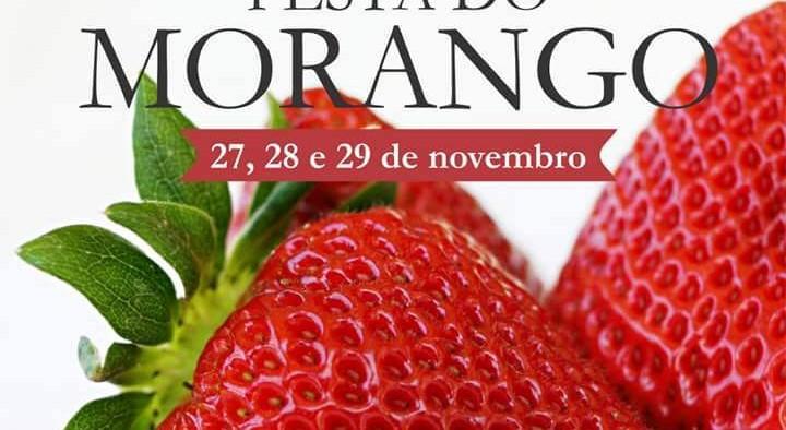 Festa do Morango dias 27, 28 e 29 de novembro de 2015