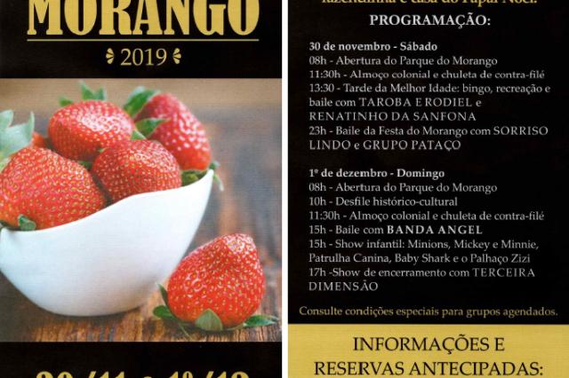 Festa do Morango – 2019