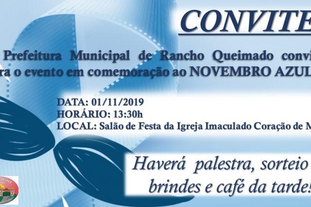 Comemoração Novembro Azul